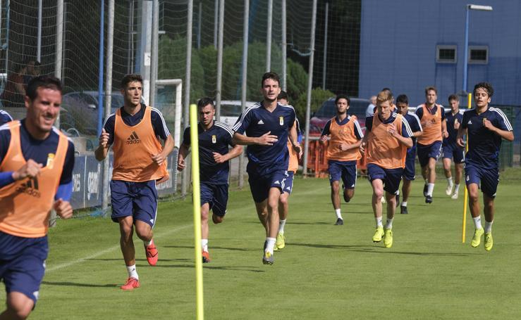 Entrenamiento del Real Oviedo (09/07/19)