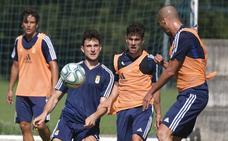 Entrenamiento del Real Oviedo (10-07-19)