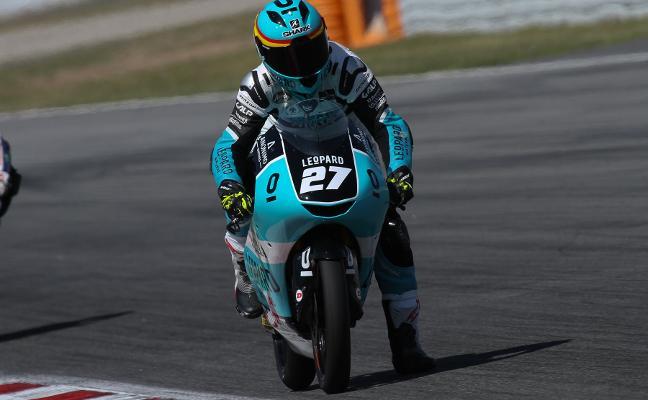 Álex Díez alcanza el ecuador del Mundial Junior de Moto3