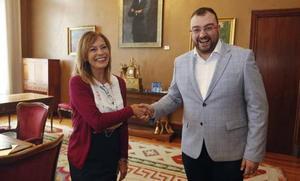 Adrián Barbón, único candidato a la presidencia del Principado
