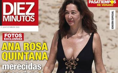 Ana Rosa Quintana de vacaciones en Ibiza