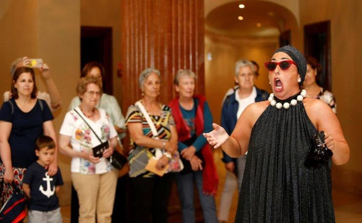 Las visitas teatralizas regresan al teatro Campoamor