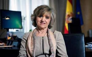 María Luisa Carcedo pide que se retire la palabra 'disminuido' de la Constitución