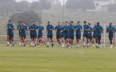Entrenamiento del Sporting (11/07/2019)