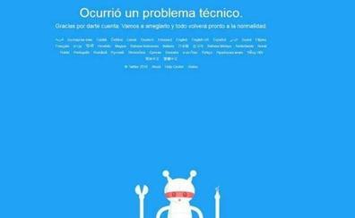 Un problema técnico impide el acceso a Twitter durante más de una hora
