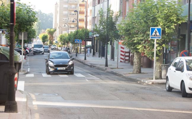 Inicio de las obras de mejora de la carretera de Piedras Blancas a Carcedo