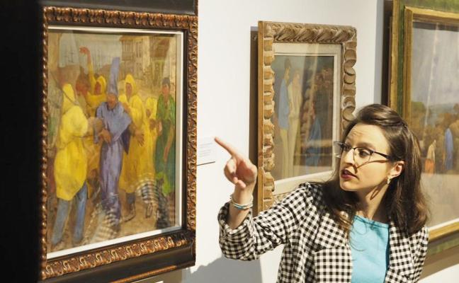 Evaristo Valle, cumpleaños con nuevo cuadro en el museo