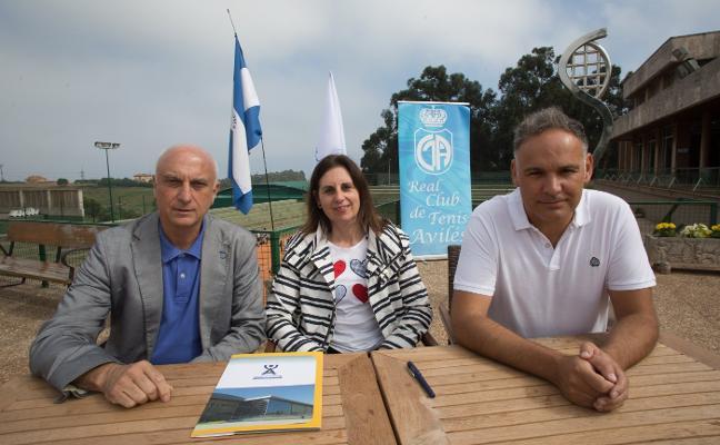 El Real Club de Tenis Avilés y la Atlética Avilesina unen sus fuerzas