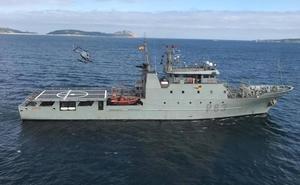El patrullero 'Arnomendi' recala en Avilés y podrá ser visitado