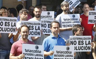 «Estamos en un ambiente de un matadero laboral tecnológico», claman lostrabajadores de Telecable
