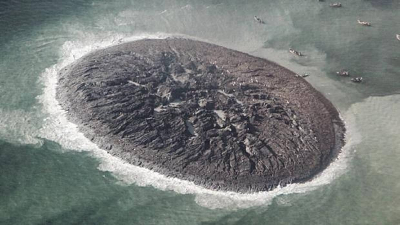 Desaparece una isla que surgió de la nada en Pakistán hace solo seis años