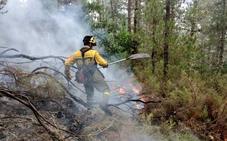 Controlado el incendio forestal de San Martín de Oscos