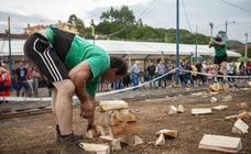 Los deportes autóctonos protagonizan las celebraciones en Perlora
