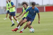 Entrenamiento del Sporting (13/07/2019)