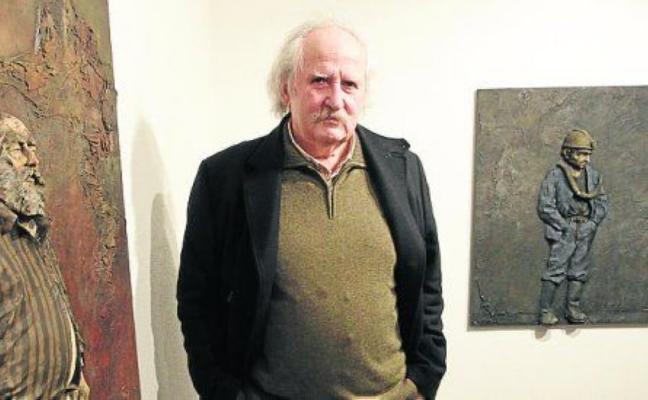 Muere José Legazpi, el escultor que se enamoró de la madera