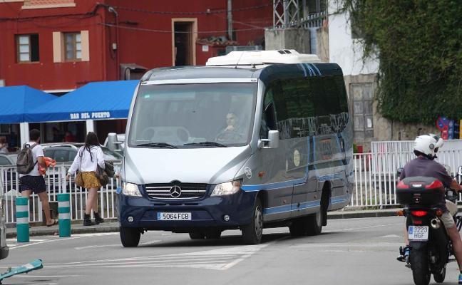 Los buses lanzadera vuelven a Lastres