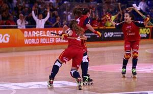 Las asturianas Sara Lolo y Marta Piquero vuelven a proclamarse campeonas del mundo de hockey