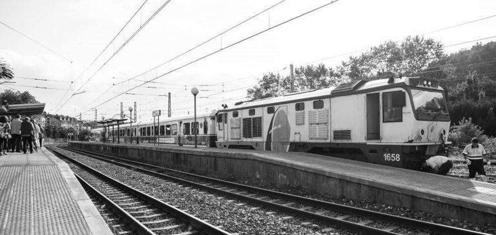 Un tren que no se sostiene
