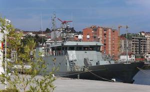 El patrullero 'Arnomendi' ya está en Avilés y podrá ser visitado mañana