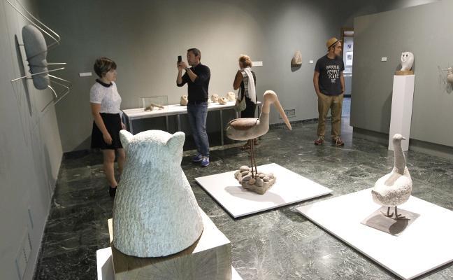 'Piedra', en el Museo Evaristo Valle