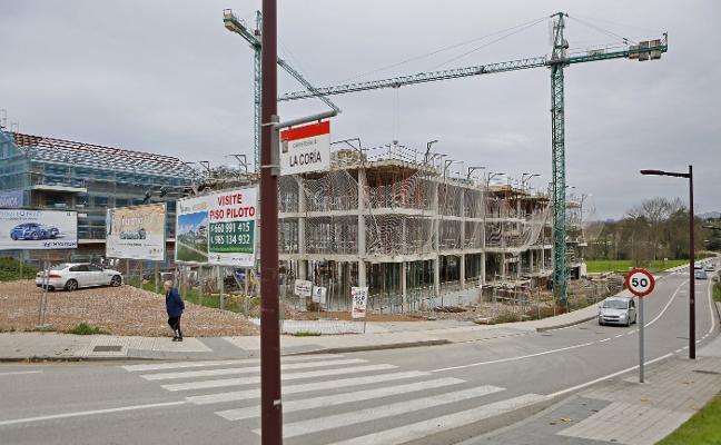 Gijón tiene 477 viviendas nuevas sin vender, el 85% de fecha posterior a 2015