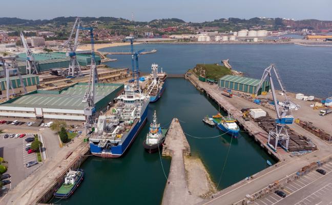 Los astilleros asturianos aseguran el trabajo hasta 2021 y prevén un futuro «prometedor»