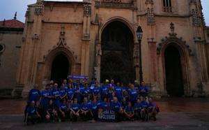 Olivares inicia el Camino de Santiago