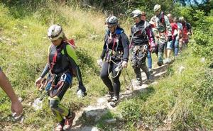 Encontradas sanas y salvas las espeleólogas de la cueva de Cantabria
