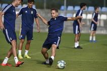 Entrenamiento del Real Oviedo (15-7-19)