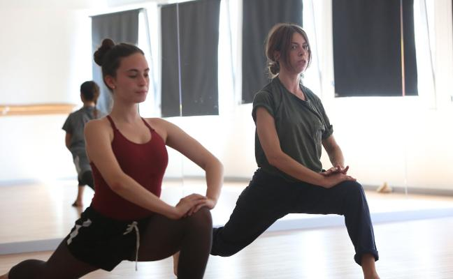 Control físico para el baile