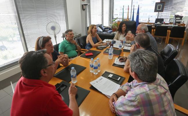 Castrillón se compromete «en firme» con la Mesa por la Industria