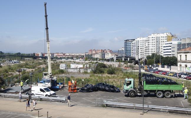 Fomento inicia una nueva fase de obras para adecuar el túnel del metrotrén en Gijón tras vaciarlo