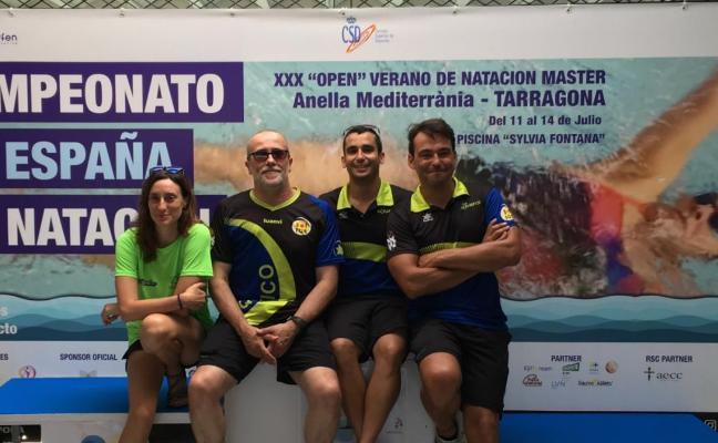Las Anclas y Solrás brillan en Luanco y en el nacional