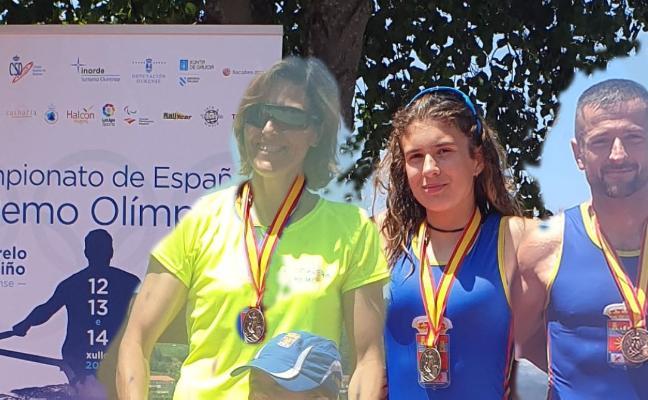 Tres medallas para Corvera en Orense