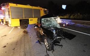 El fallecido, de 52 años, provocó un accidente con tres vehículos implicados