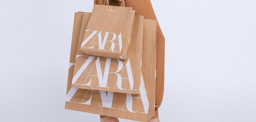 Inditex eliminará las bolsas de plástico de todas sus tiendas en 2020
