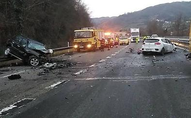 Ocho kamikazes han provocado accidentes en Asturias en el último año