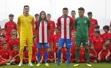 El Sporting presentará las camisetas en La Escalerona