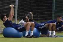Entrenamiento del Real Oviedo (16-7-19)