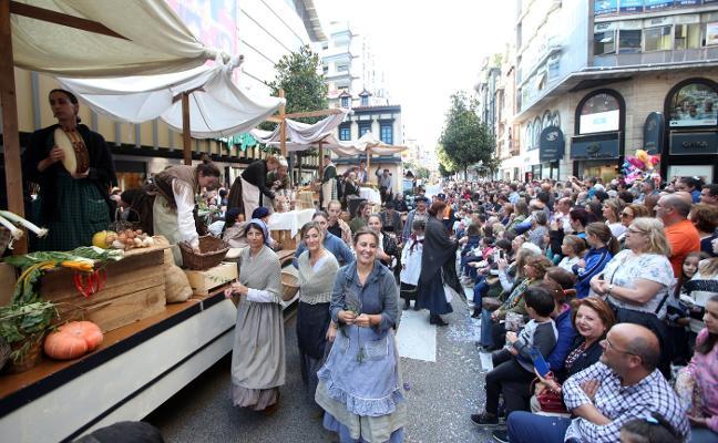 El Ayuntamiento de Oviedo cuenta con 860.000 euros para San Mateo, la mitad que el año pasado