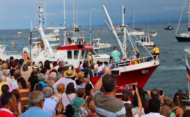 La procesión marinera, el colofón del Carmen