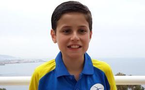 El asturiano Diego Vergara destaca en el campeonato de España sub 14