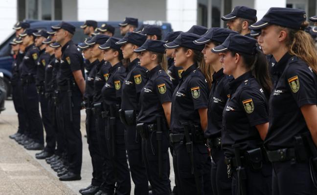 Las mujeres ganan presencia en la Policía Nacional