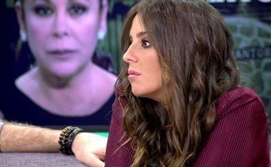 Anabel Pantoja, víctima de un robo en su casa