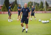 Entrenamiento del Sporting (18/07/2019)