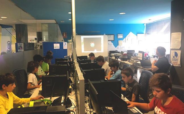 La Baragaña, escenario de un campus de ocio tecnológico juvenil