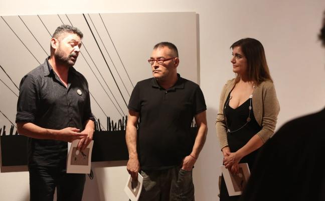 Jaime Rodríguez expone su último trabajo, 'Negación', en el CMAE
