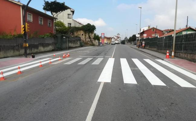 Un nuevo paso de peatones en El Pedrero
