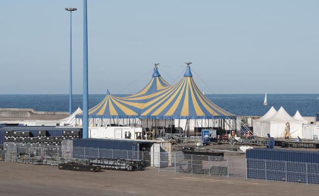 El Circo del Sol ya está en Gijón
