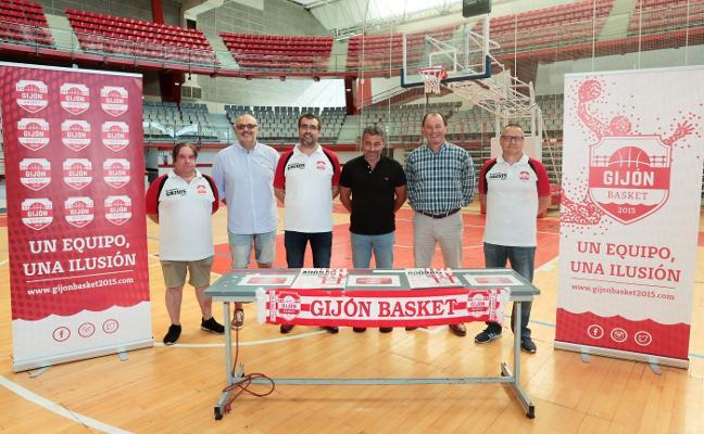 El Gijón Basket presenta su nuevo organigrama